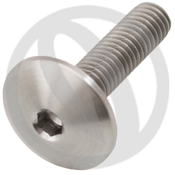 T003 screw - titanium grade 5 - M5 x 20