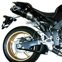 Couple of steel / carbon silencers